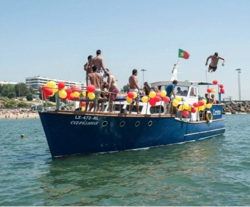 BBQ & Drinks Chill Out Boat Cruise Lisbon - Up To 25 Guests - Activities In Portugal