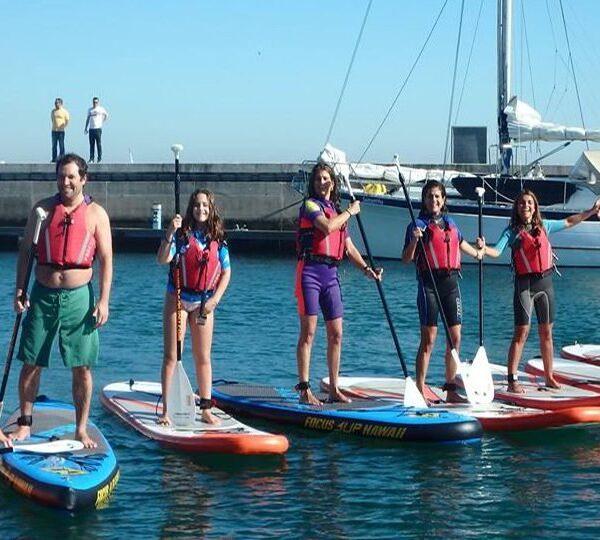 paddle board tour lisbon