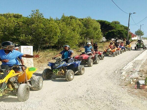 quad biking cascais