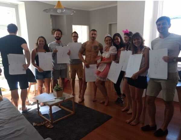 Life Drawing Class Lisbon - Activities In Portugal