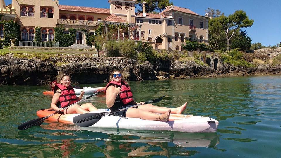 kayak tour cascais