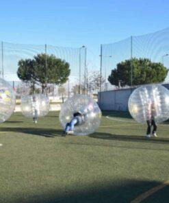 bubble football lisbon