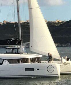 Catamaran HIre Lisbon Up 16 Guests