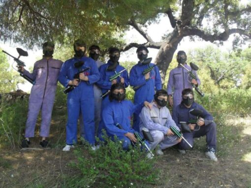 Paintball Vilamoura with transfer