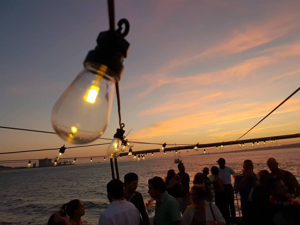 Tropical Sunset Lisbon Boat Party