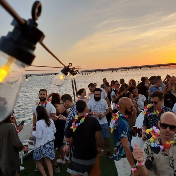 Tropical Lisbon Boat Party