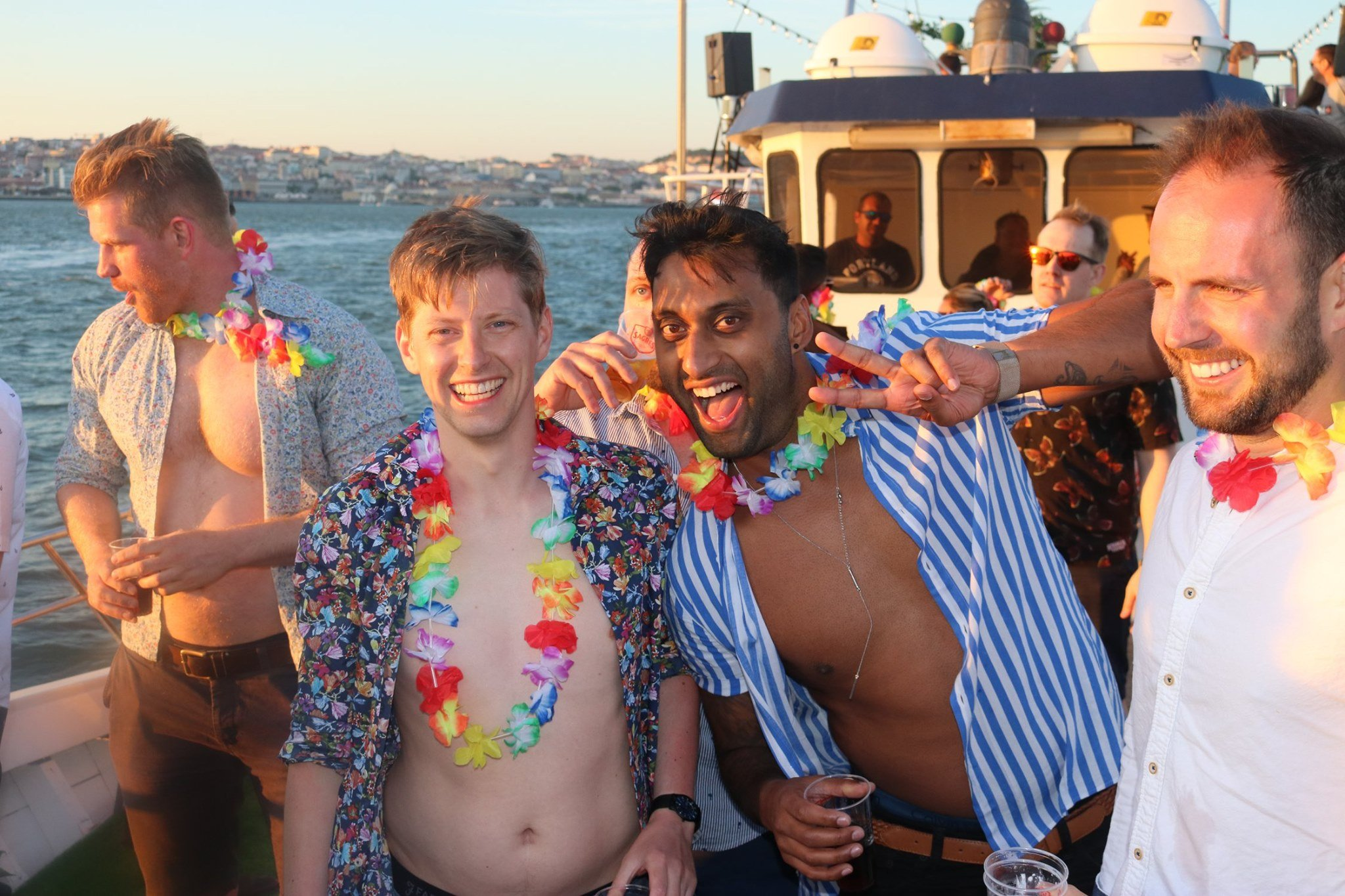 Lisbon Tropical Sunset Boat Party