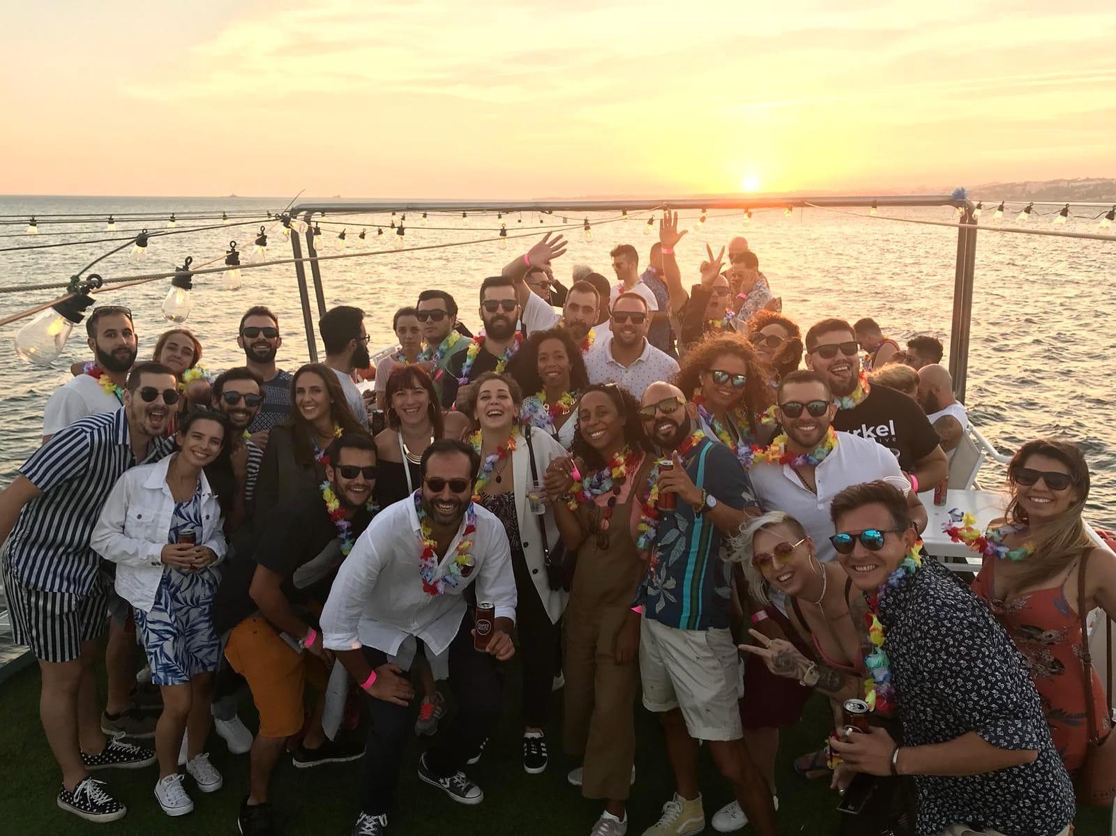 Tropical Lisbon Boat Party