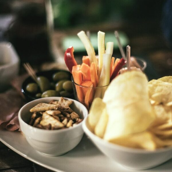 snacks and drinks