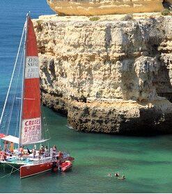 Small Catamaran Hire Vilamoura