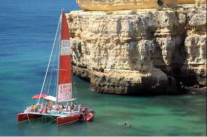 Small Catamaran Hire Vilamoura