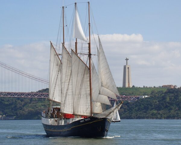 Large Corporate Sail Yacht Hire Lisbon