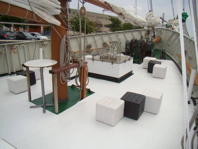Large Corporate Sail Yacht Hire Lisbon