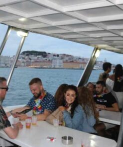 Large Boat Cruise Lisbon – 1 to 80 Guests