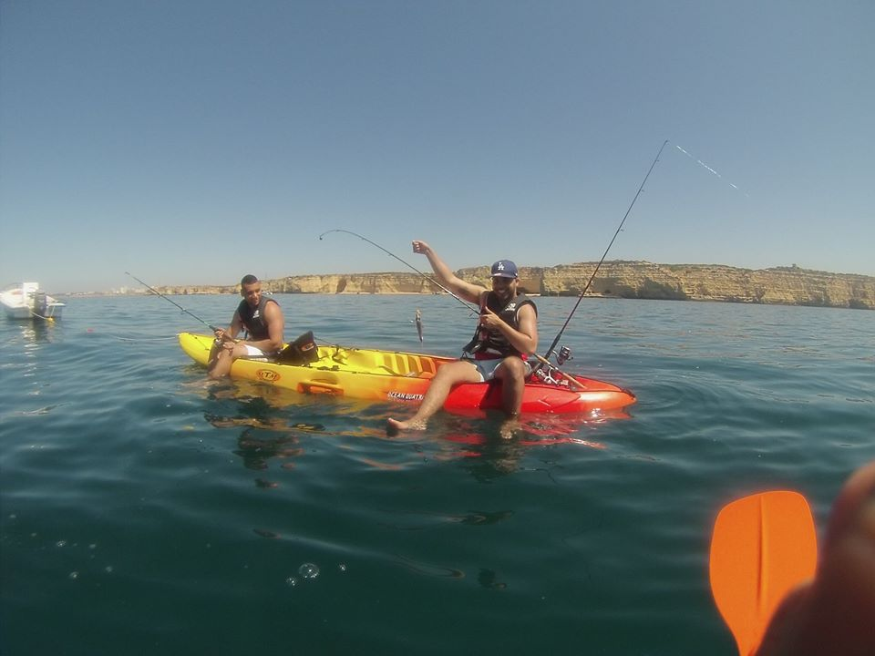 Kayak Fishing Praia Da Rocha