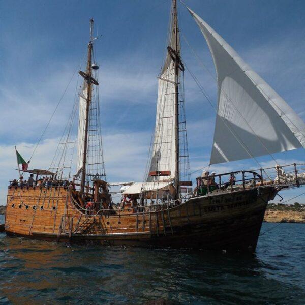 Pirate Ship Boat Cruise Praia Da Rocha