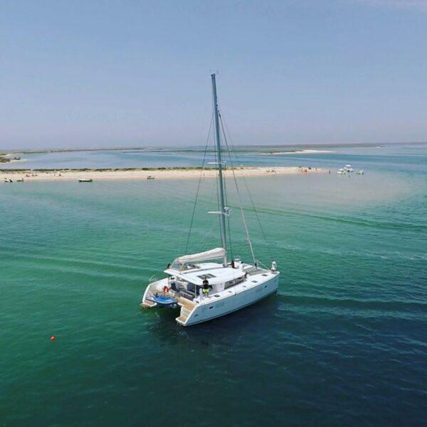 Luxury Catamaran Hire Faro